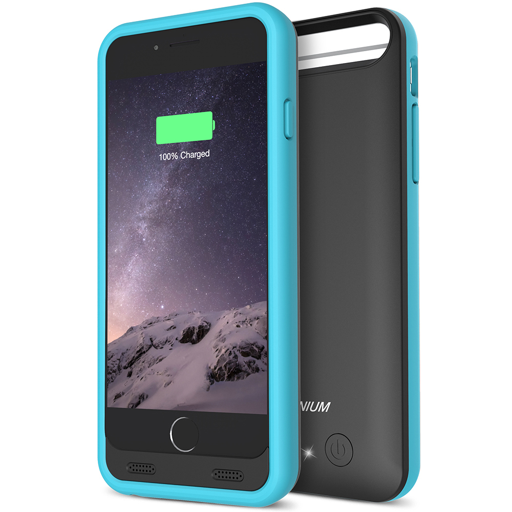 340979e3a8f Atomic S Battery Case for iPhone 6 6S 4.7 – [Black / Blue]