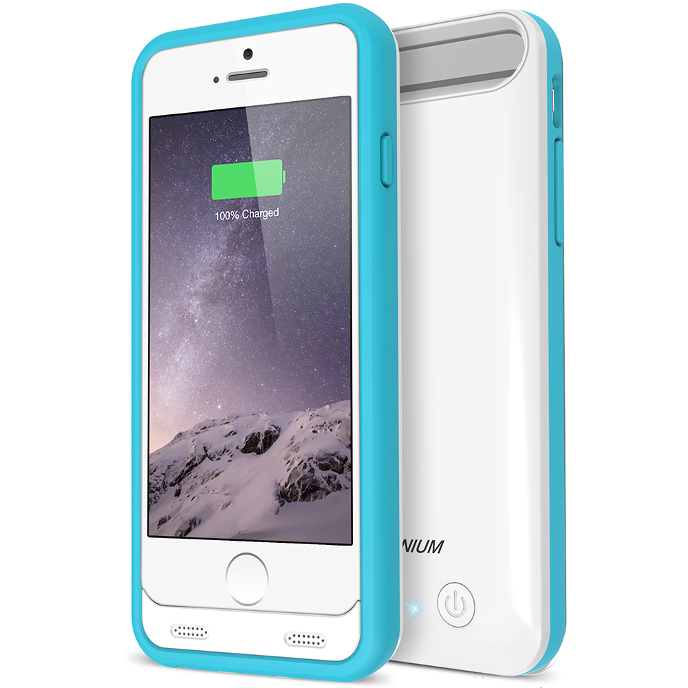 atomic s battery case for iphone 6 6s 4 7 white blue. Black Bedroom Furniture Sets. Home Design Ideas