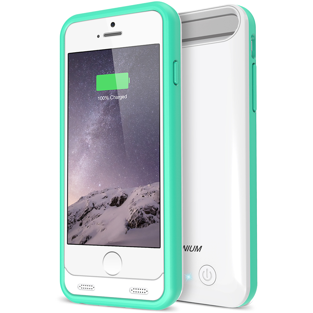 atomic s battery case for iphone 6 iphone 6s 4 7 white turquoise. Black Bedroom Furniture Sets. Home Design Ideas