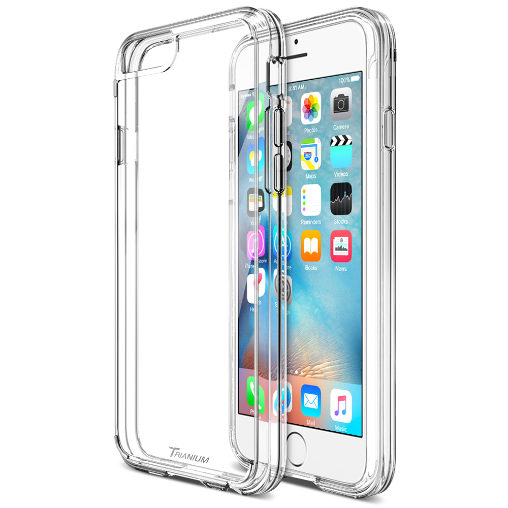 promo code 980a9 690de Trianium [Clear Cushion] for iPhone 6S Plus & iPhone 6 Plus (5.5 inches) –  Clear