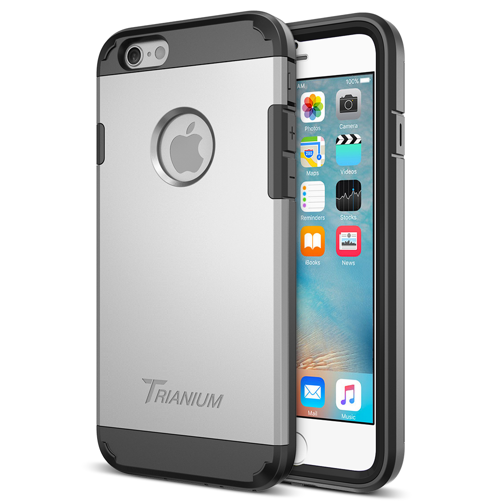 hot sale online 7b0e6 92db5 Trianium [Duranium Series] for iPhone 6s & 6- Silver