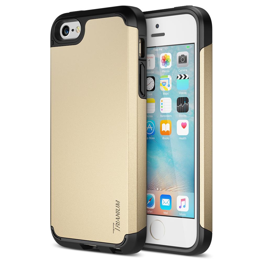 b0b22cf5c Trianium  Protak Series  for iPhone SE   iPhone 5s   5- Gold