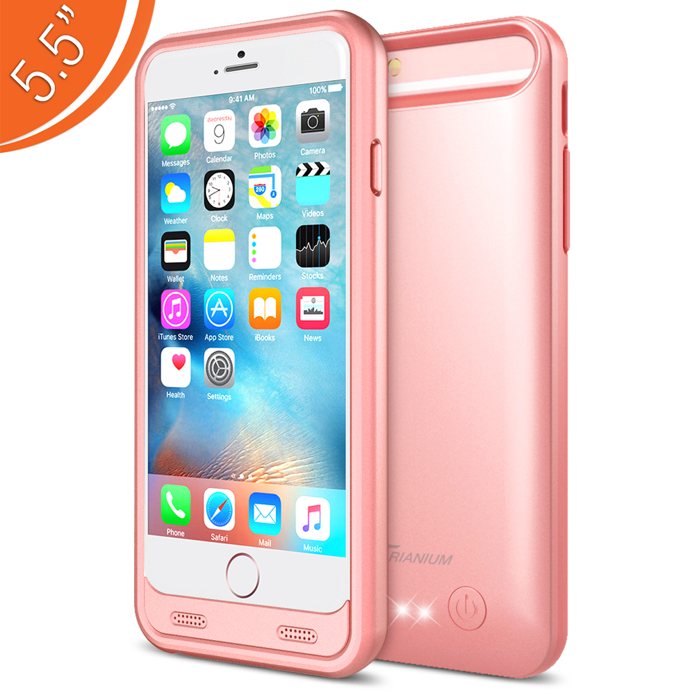 Home IPhone 6 6S Plus 55 Atomic S Battery Case For Rose Gold