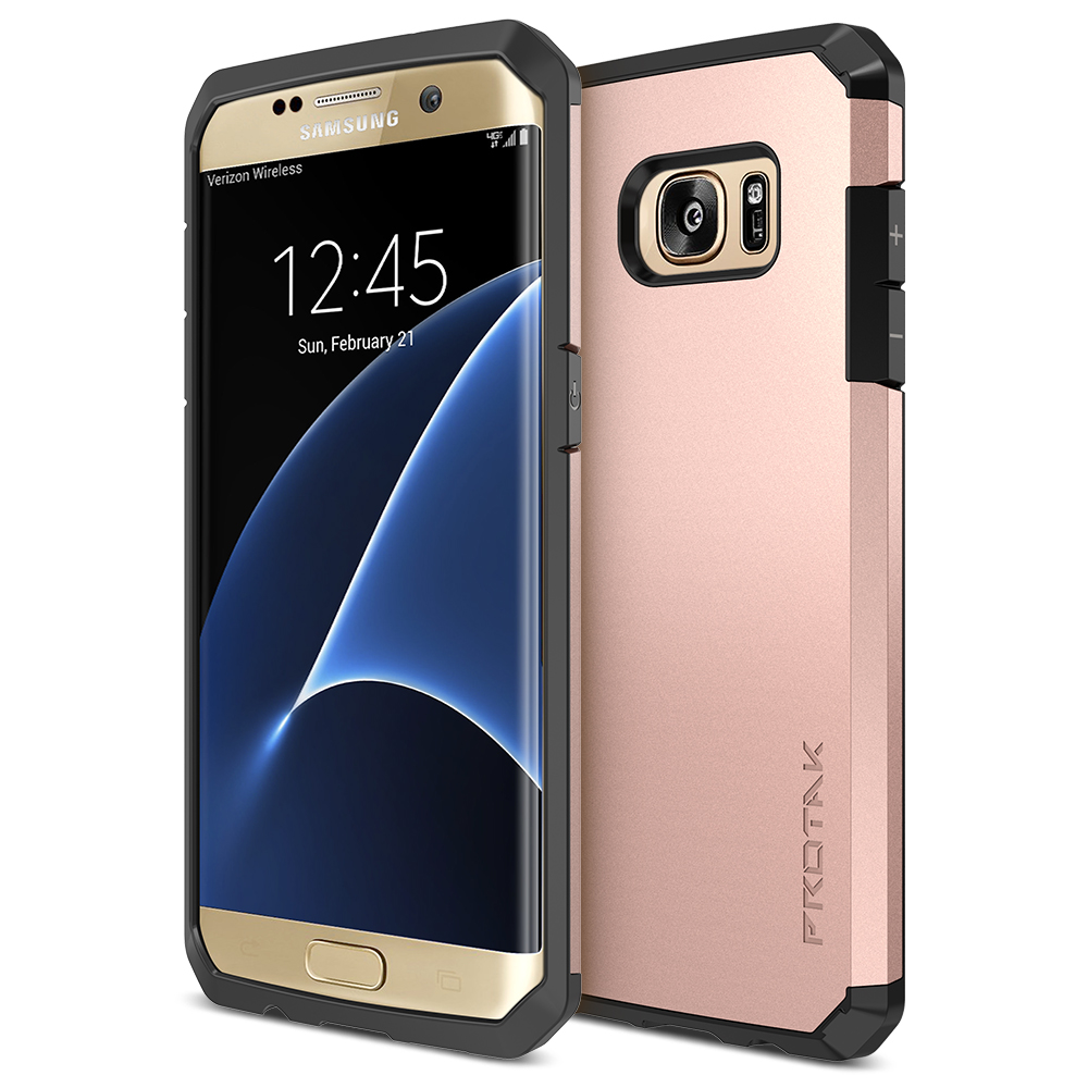 reputable site 8755a 14241 Trianium [Protak Series] for Samsung Galaxy S7 Edge- Rose Gold