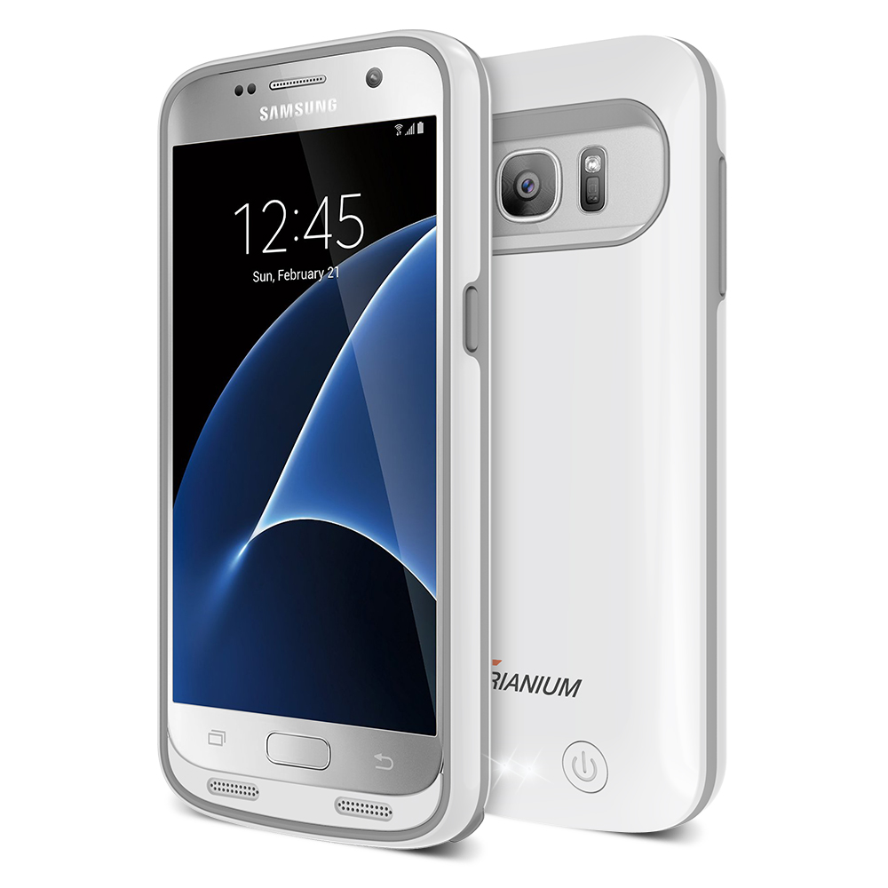 Atomic S Pro Battery Case For Samsung Galaxy S7  U2013 White