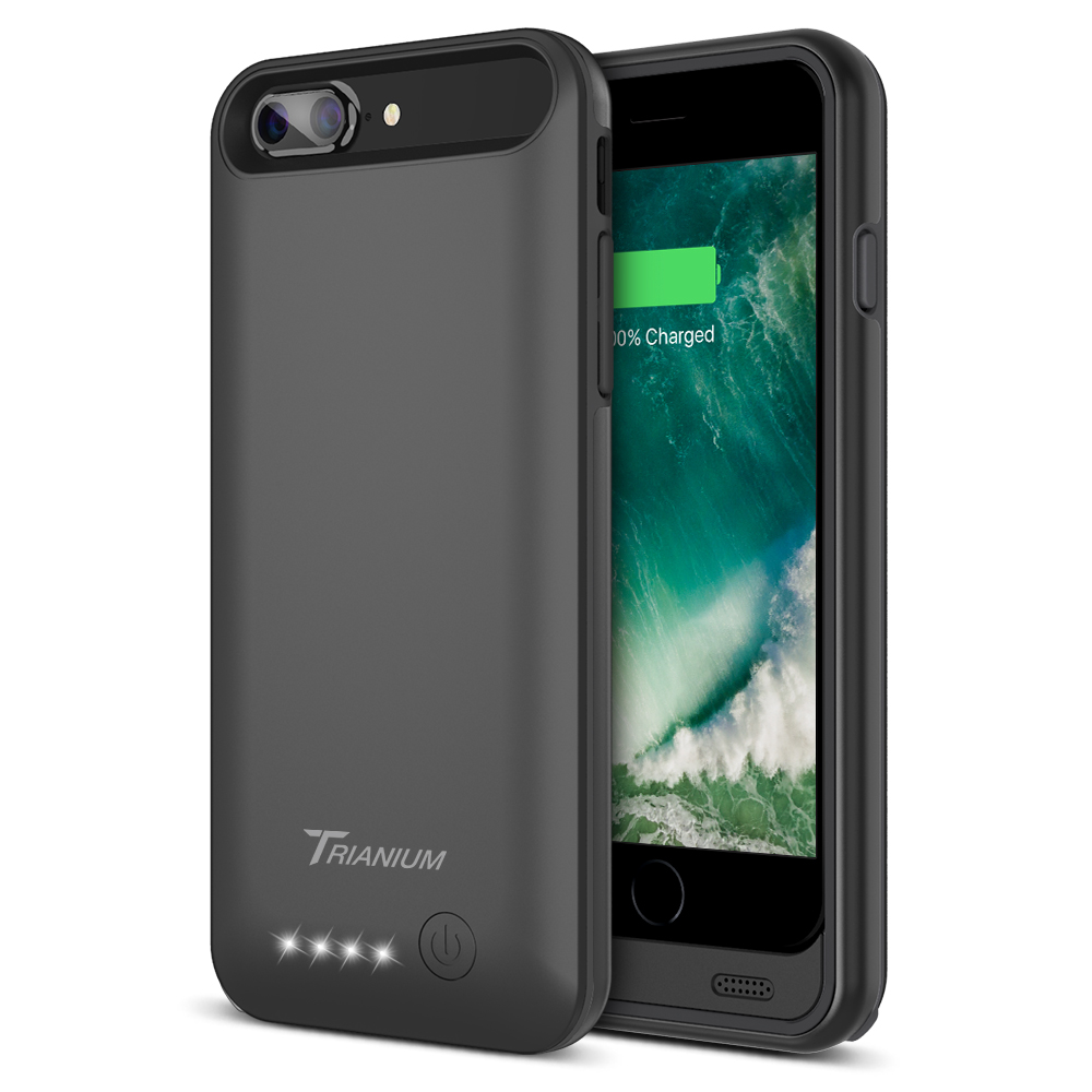 release date cc8a7 136ca Atomic Pro Battery Case for iPhone 8 Plus – Black