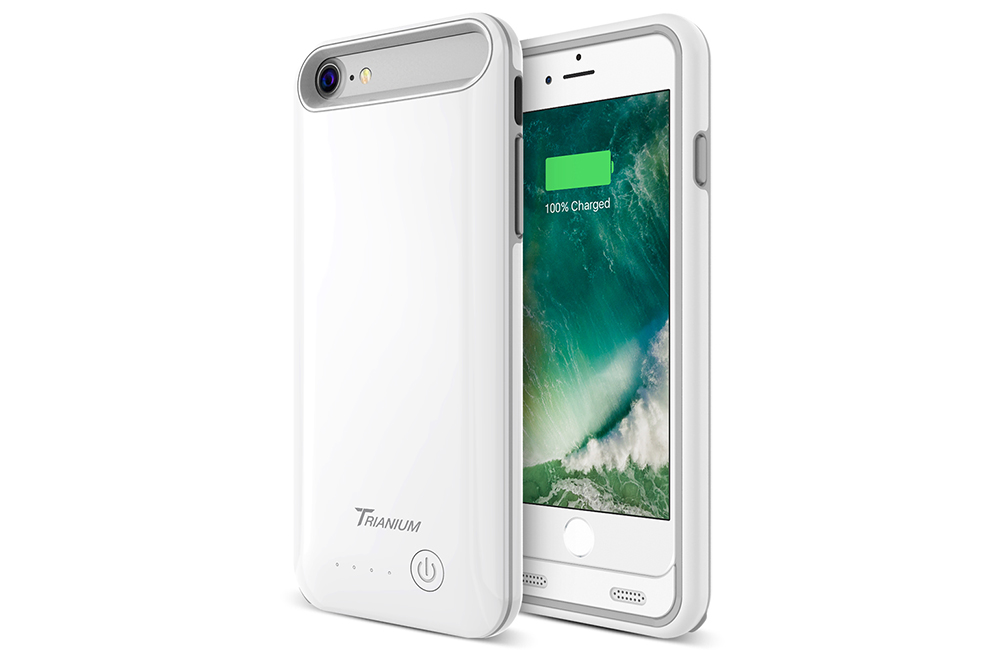 best sneakers 39750 d8125 Atomic Pro Battery Case for iPhone 7 – White/Grey