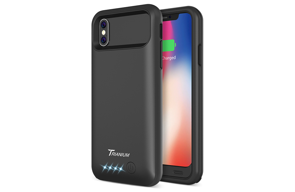 best sneakers 306d0 731ed Atomic Pro Battery Case for iPhone X – Black