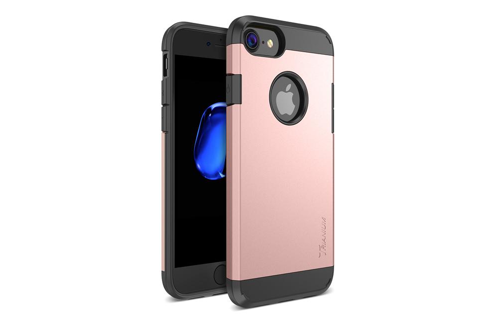 Home Slim Case Trianium Protanium Series For IPhone 7 Rose Gold