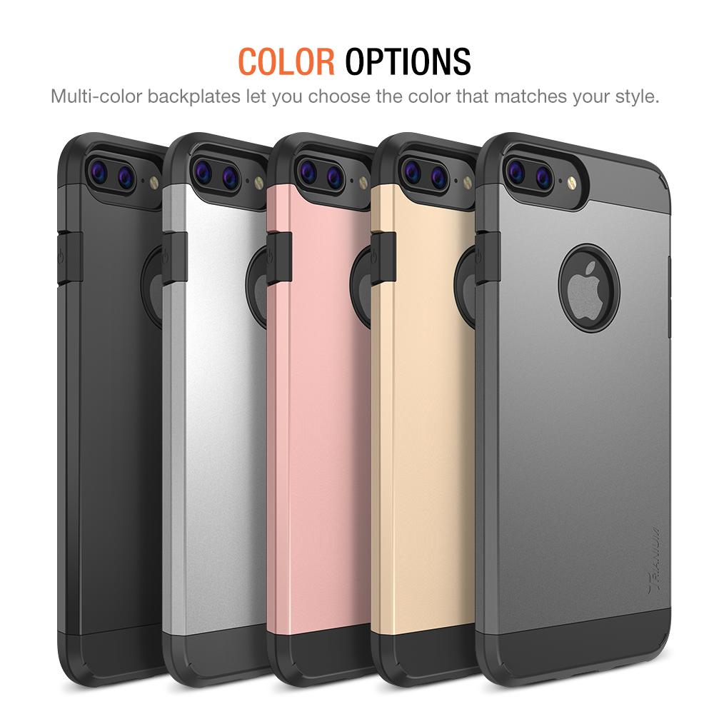new concept 0088b dda83 Trianium [Protanium Series] for iPhone 7 Plus – Black