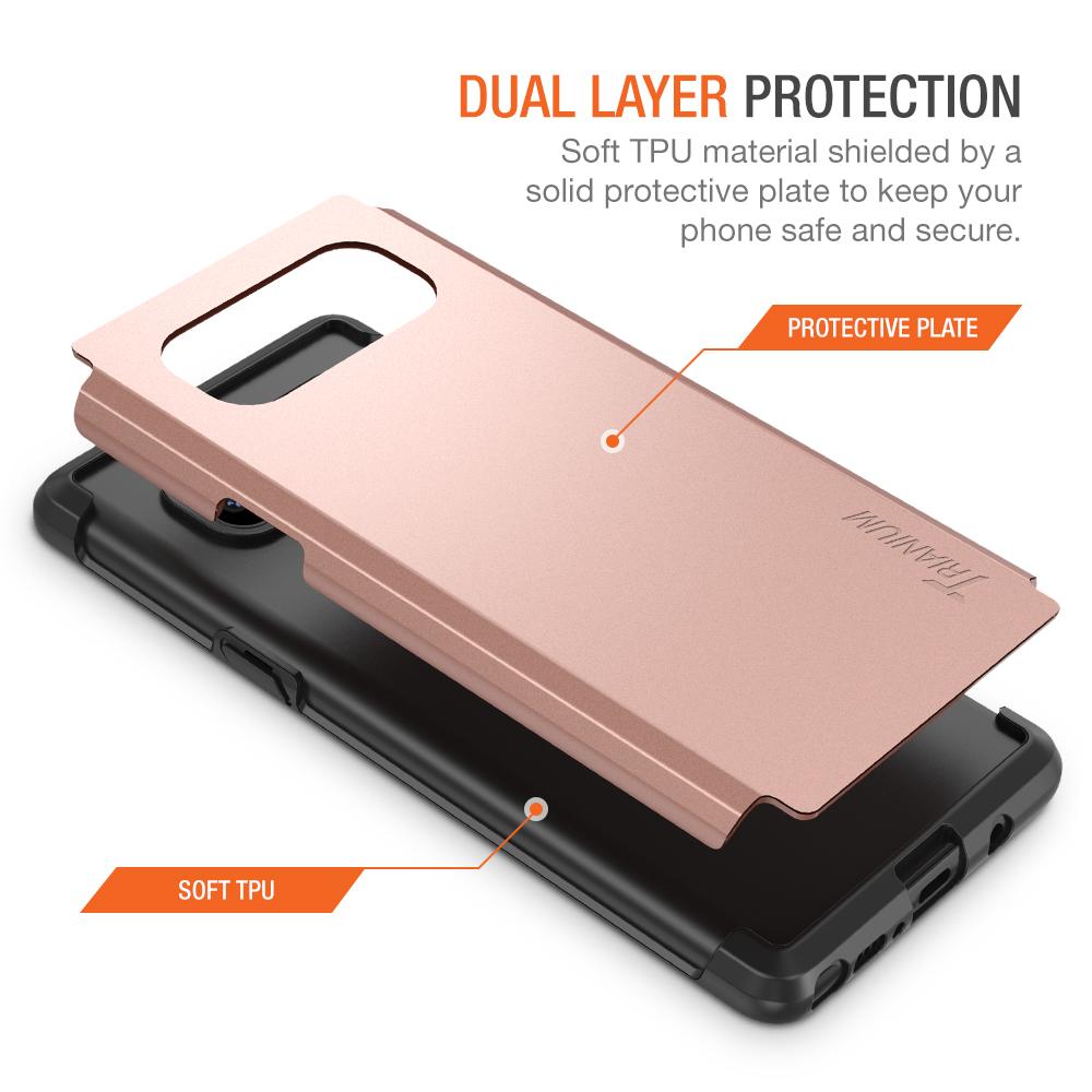 Trianium Protanium Series For Samsung Galaxy Note 8 Rose Gold Goospery S8 Plus New Bumper X Case