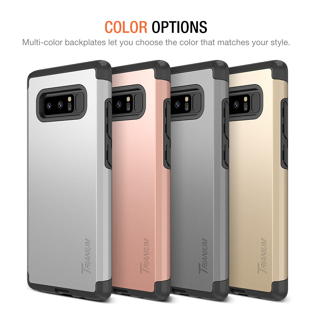wholesale dealer be0aa 44e29 Trianium [Protanium Series] for Samsung Galaxy Note 8 – Rose Gold