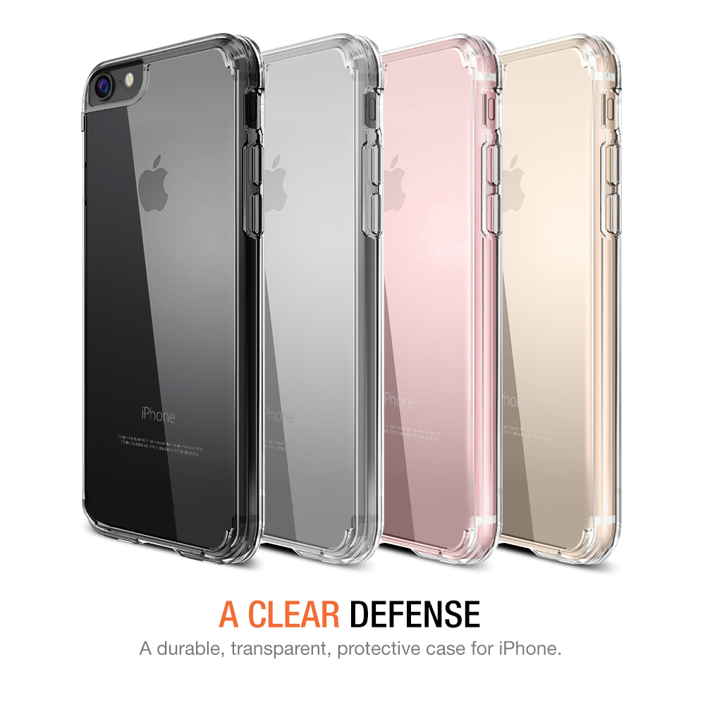 clear pink iphone 8 case