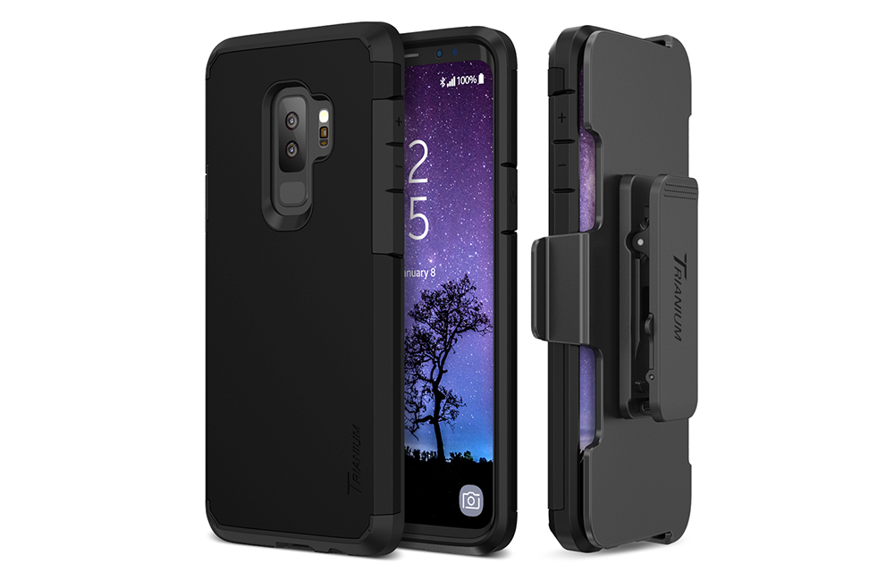 new product 69510 64f1f Trianium [Duranium Series] Case for Samsung Galaxy S9 Plus – Black