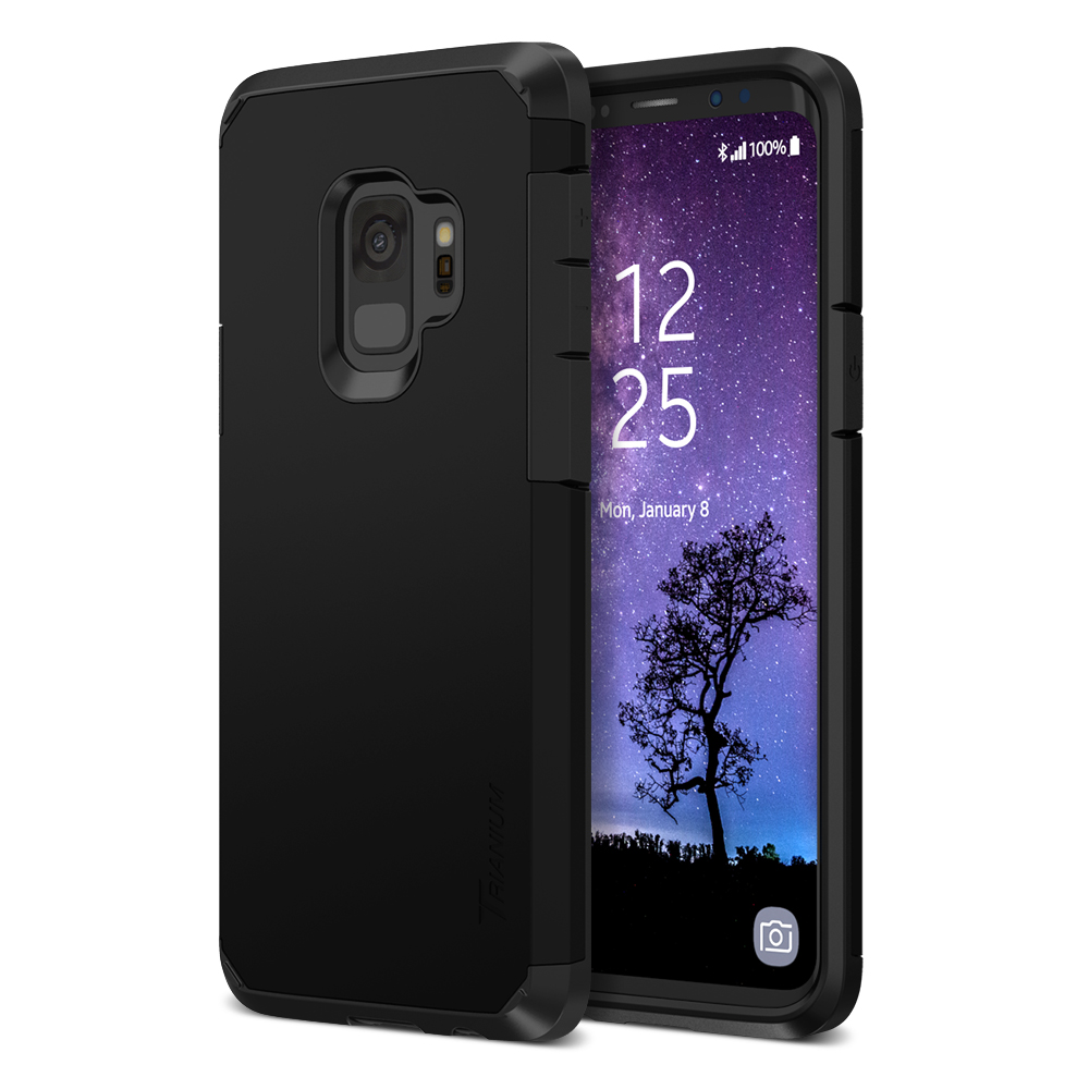 Trianium  Duranium Series  Case For Samsung Galaxy S9 Plus  U2013 Black