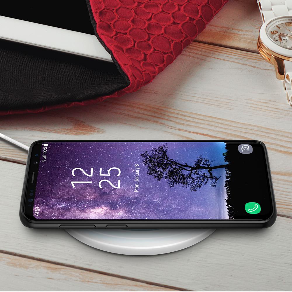 timeless design 0a7d6 cf708 Trianium [Clarium Series] Case for Samsung Galaxy S9 Plus – Clear / Black