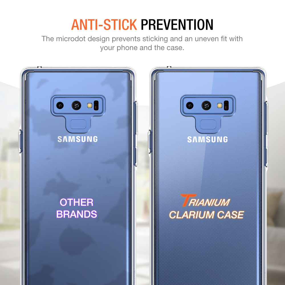 newest 8a671 380a7 Trianium [Clarium Series] for Samsung Galaxy Note 9 – Clear