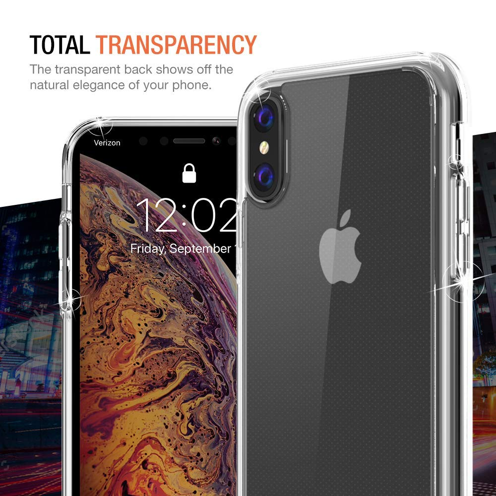 trianium clarium case designed for apple iphone xs max. Black Bedroom Furniture Sets. Home Design Ideas