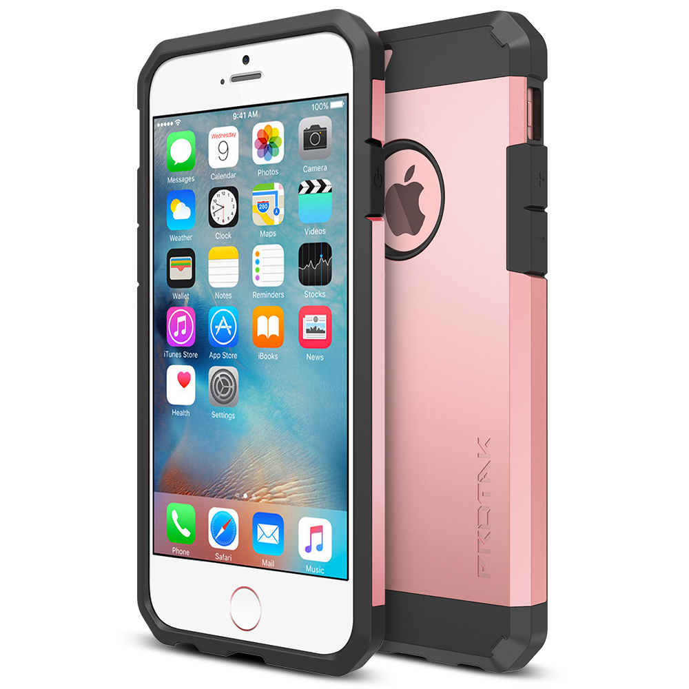 rose gold iphone trianium protak series for iphone 6s amp 6 gold 1055